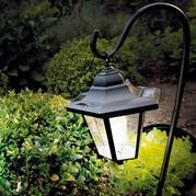 soft lighting from solar lanterns